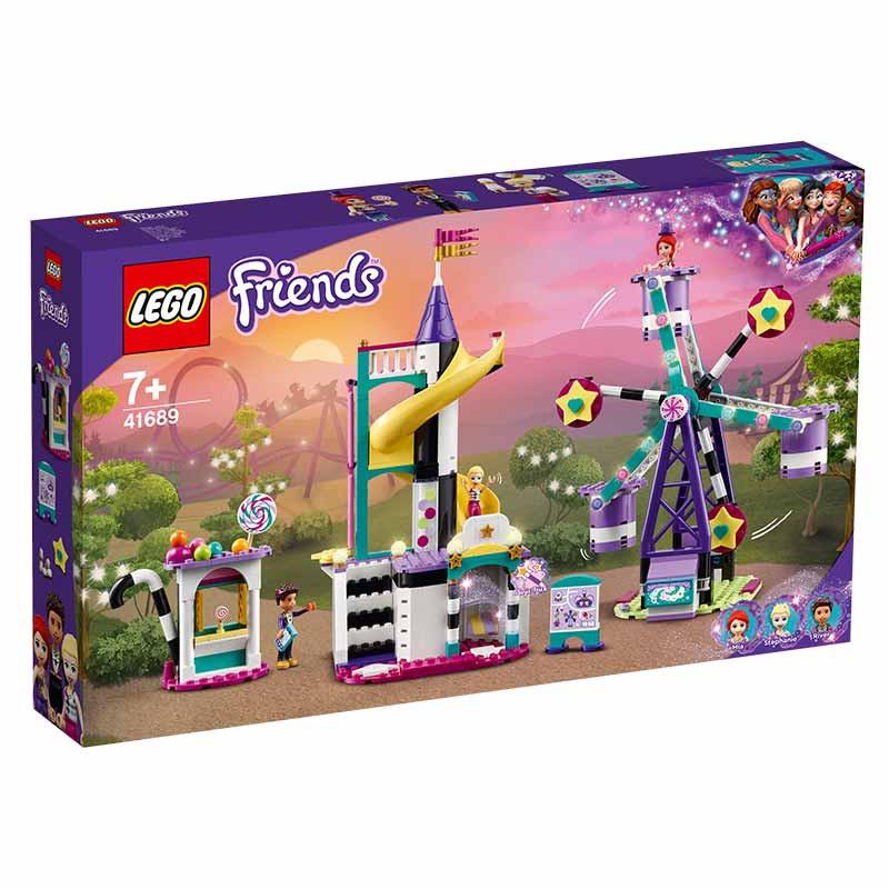 Lego Friends Roda Gigante e Escorrega