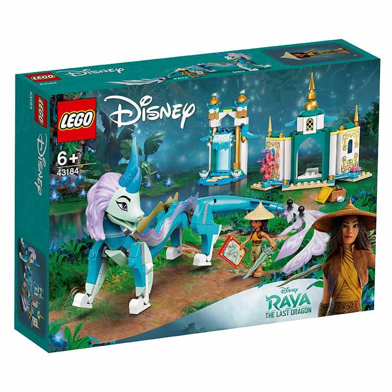 Lego Disney Raya e o Dragão Sisu