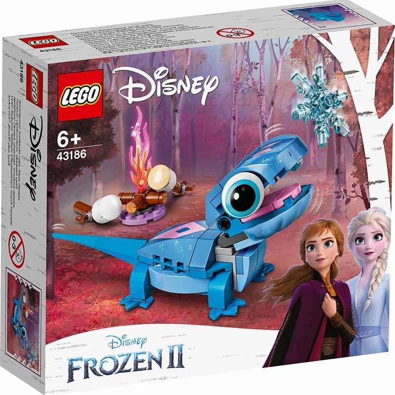 Lego Disney Bruni salamandra personagem construir