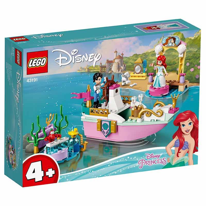 Lego Disney O Barco de Cerimónia da Ariel