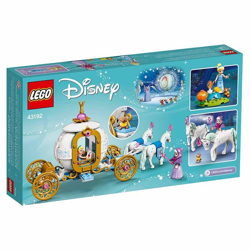 Lego Disney A Carruagem Real da Cinderela
