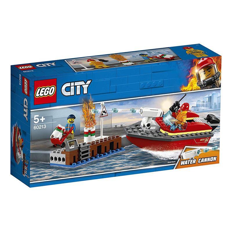 LEGO City chamas na doca