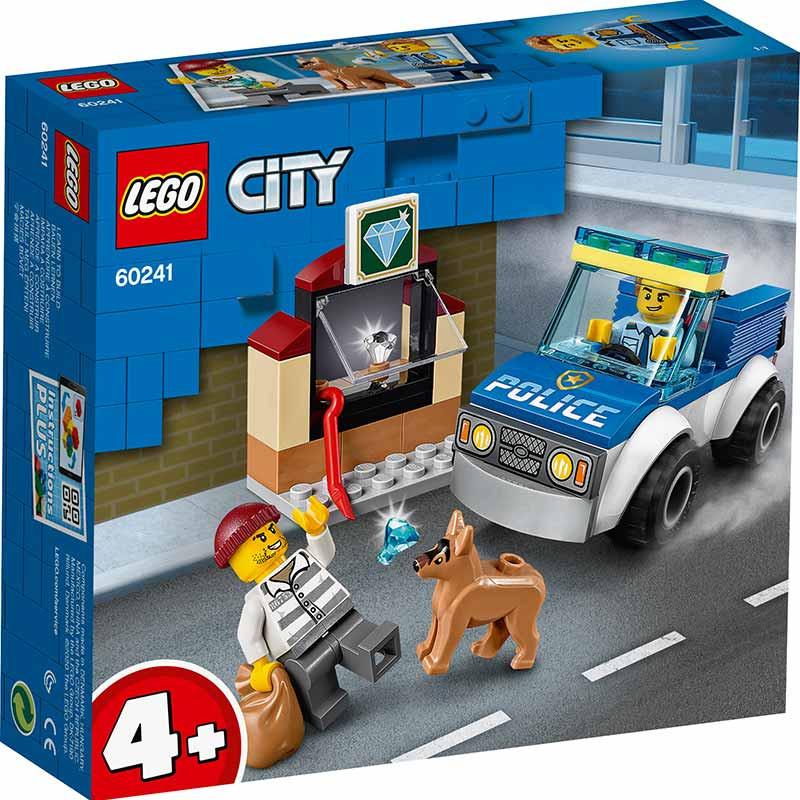 Lego City policia unidade canina