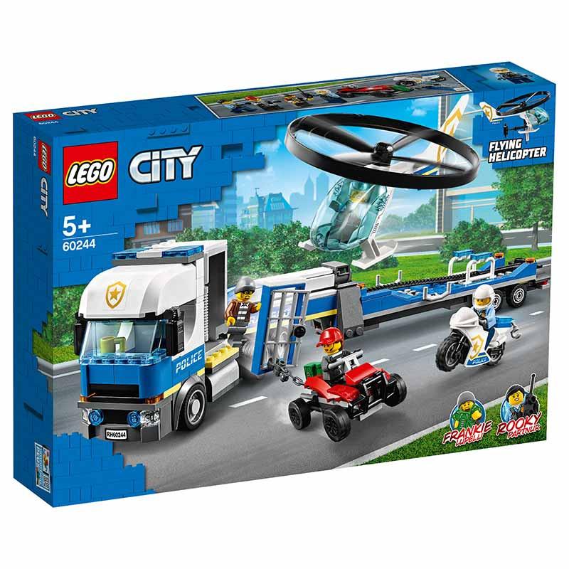 Lego City camião de transporte de helicóptero