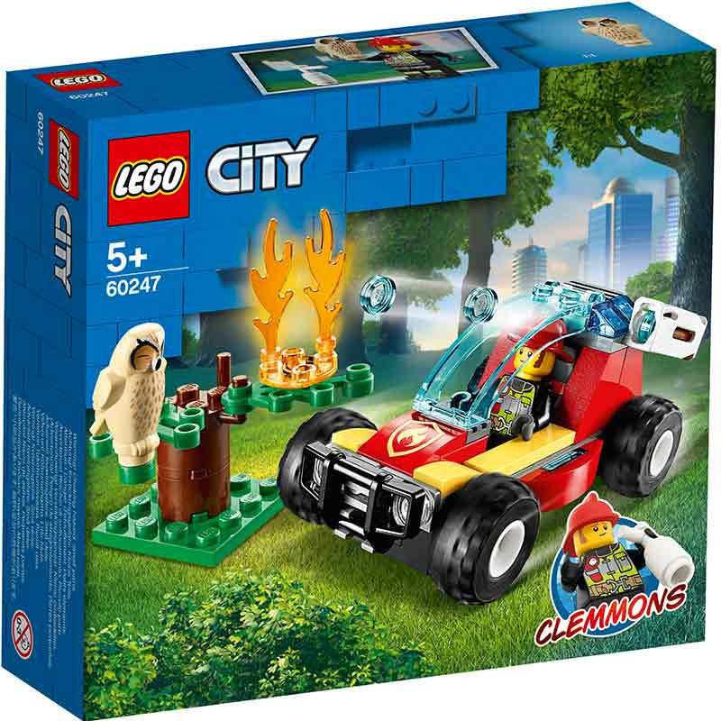 Lego City incendio no bosque