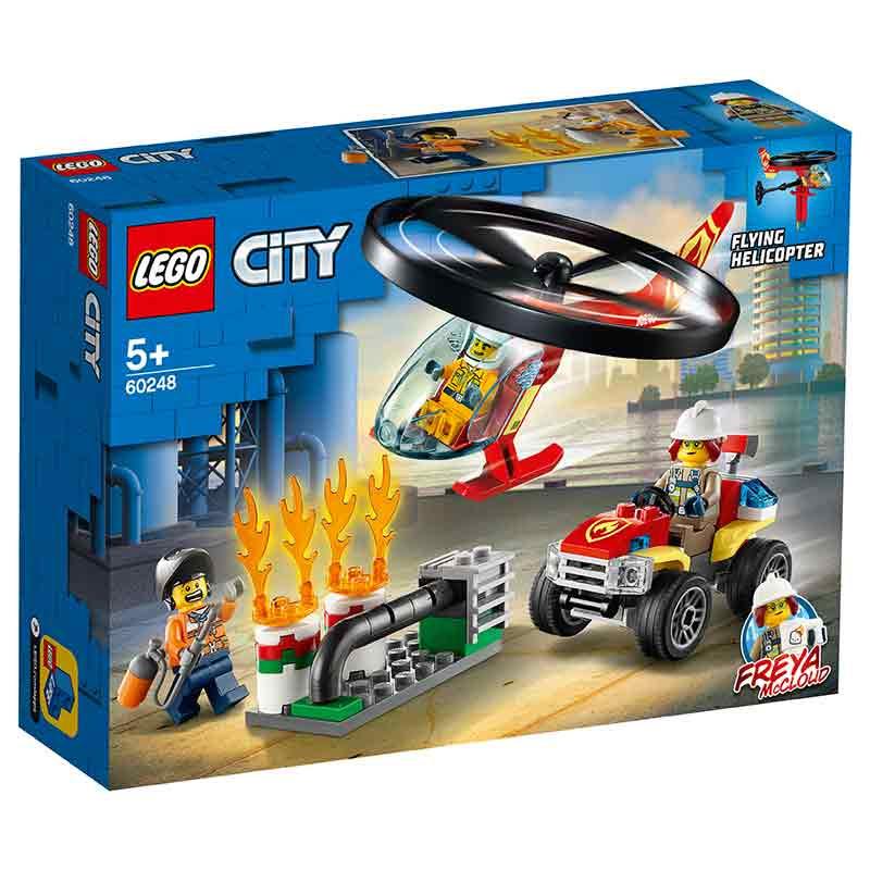 Lego City helicóptero de bombeiros de Intervenção