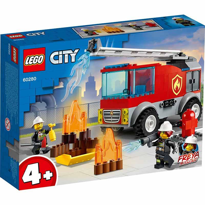 Lego City Camião dos Bombeiros com Escada