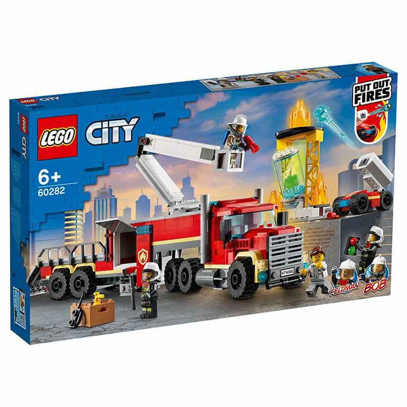 Lego City Unidade de Controlo de Incêndios