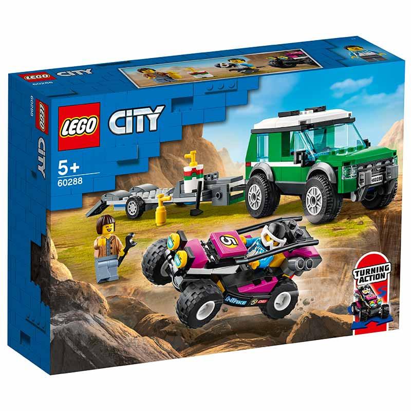 Lego City Transportador de Buggy de Corrida