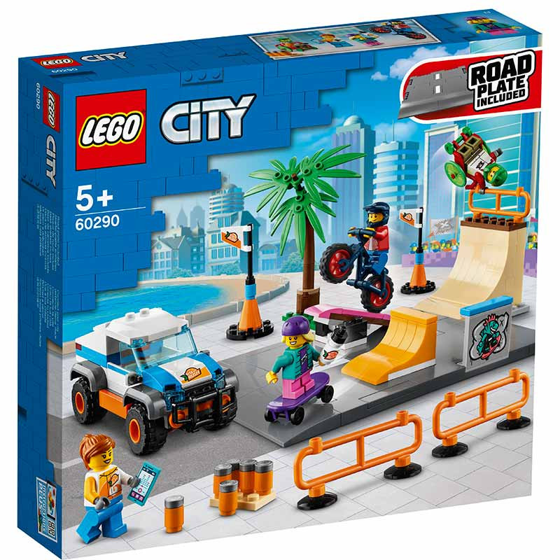 Lego City Parque de Skate