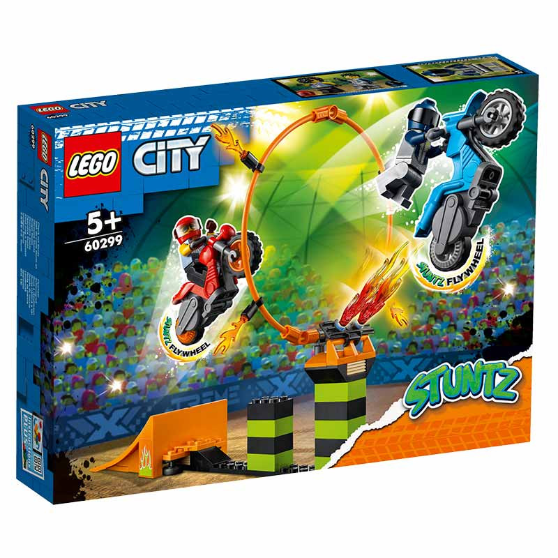 Lego City torneio acrobático