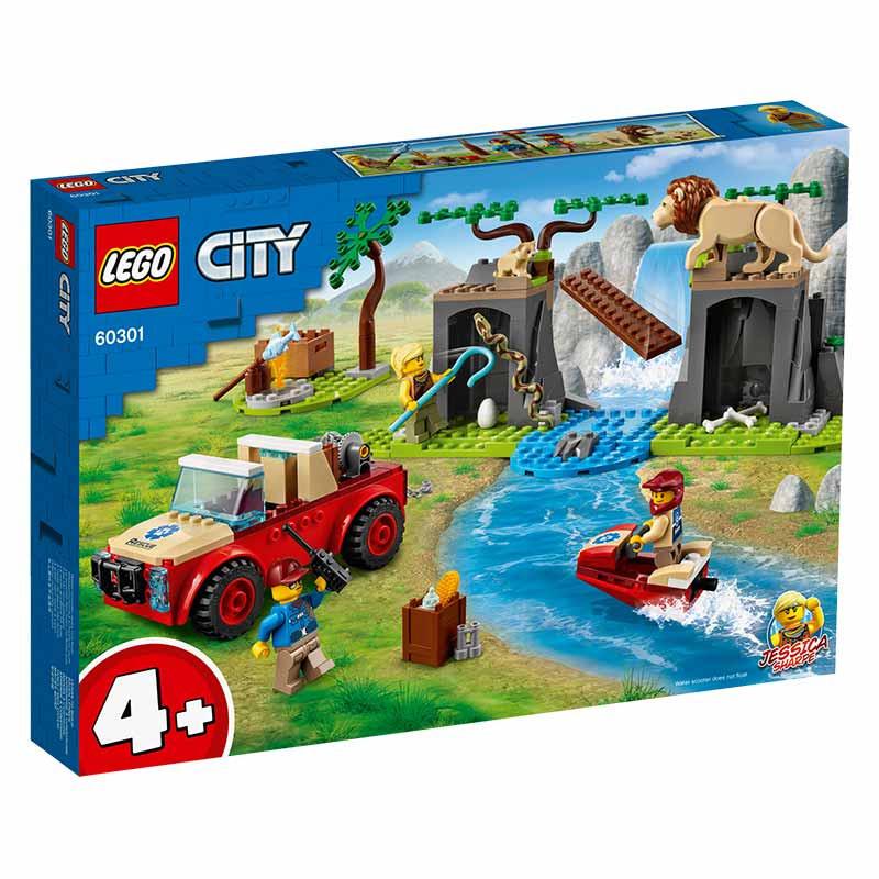 Lego City Todo o Terreno para Salvamento