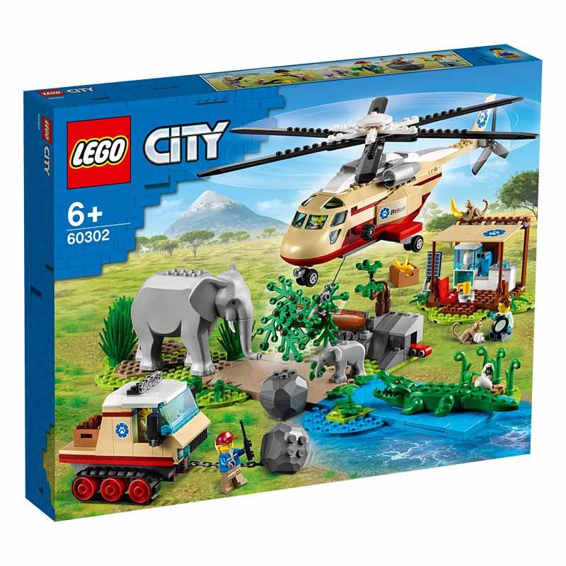Lego City Operação de Salvamento de Animais