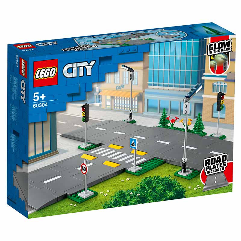 Lego City Placas de Estrada