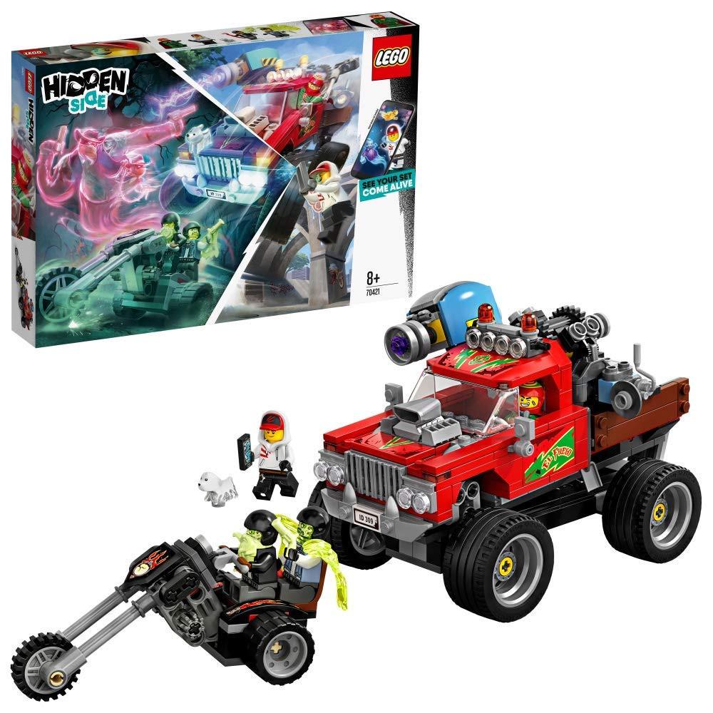 Lego Hidden O Camião de Acrobacias de El Fuego