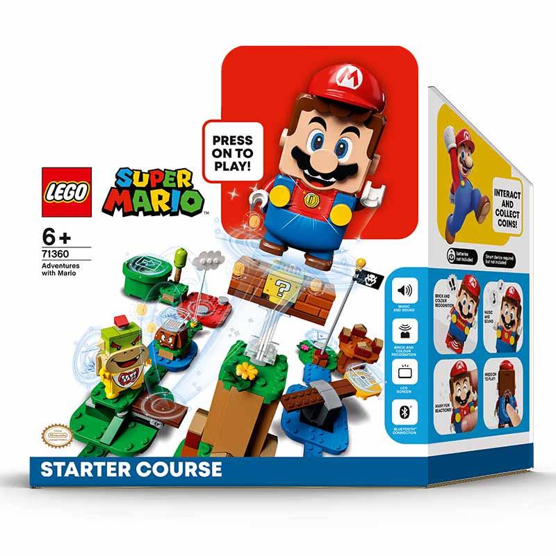 Lego Mario Bross pack inicial aventuras com Mario
