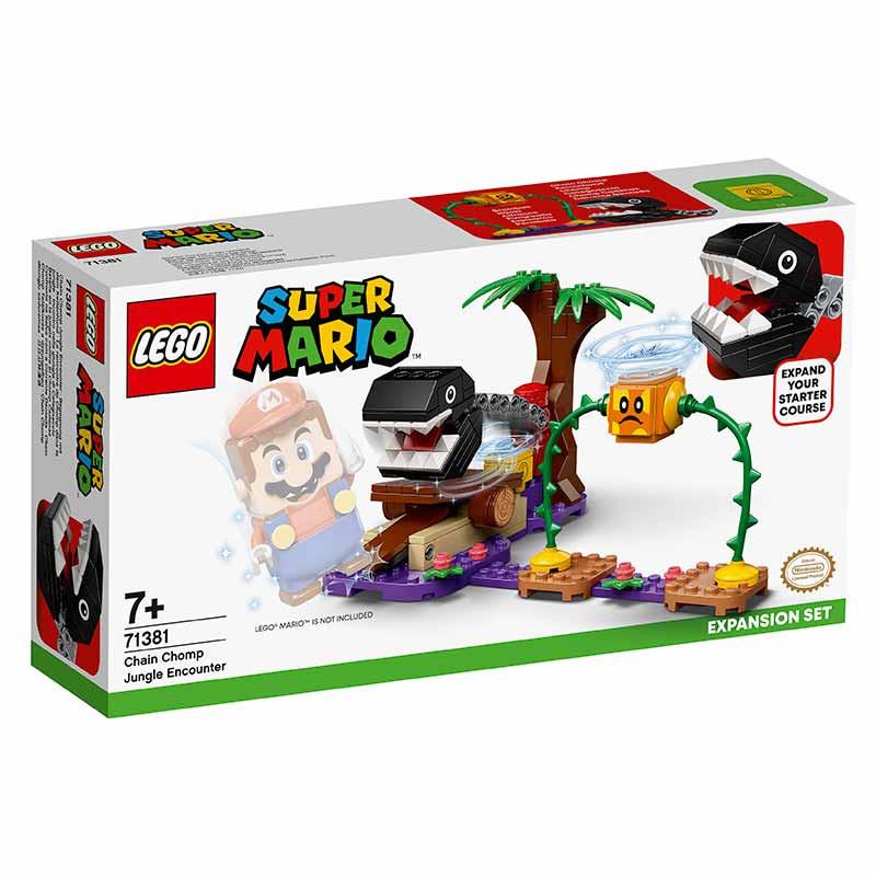 Lego Mario Bross Confronto Selva-Corrente Dentada
