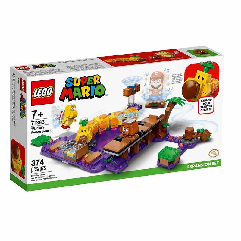 Lego Mario Bross Pântano Venenoso Lagartola