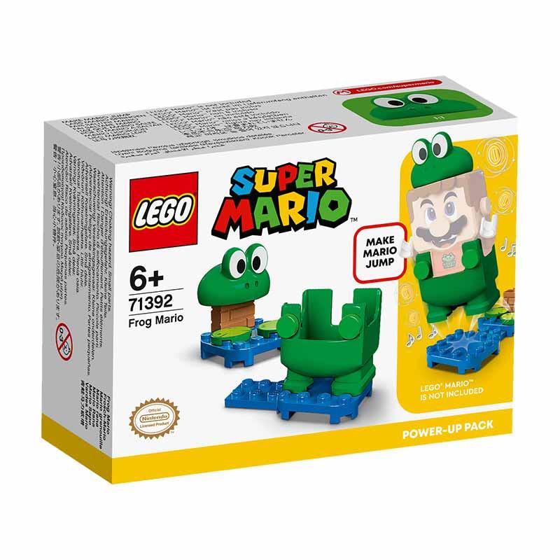 Lego Mario Pack PowerUp Mario Sapo