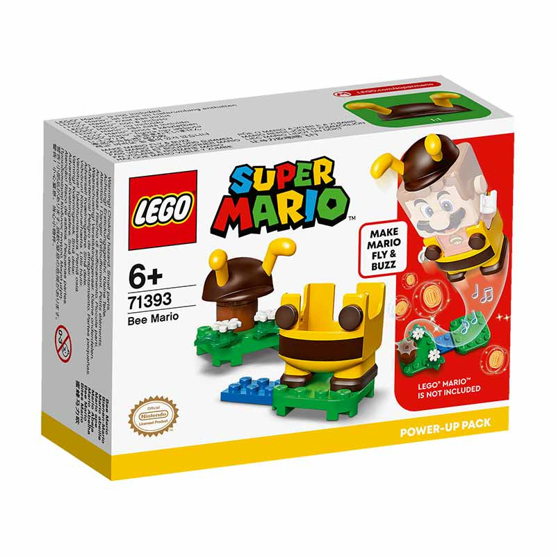 Lego Mario Pack PowerUp Mario Abelha