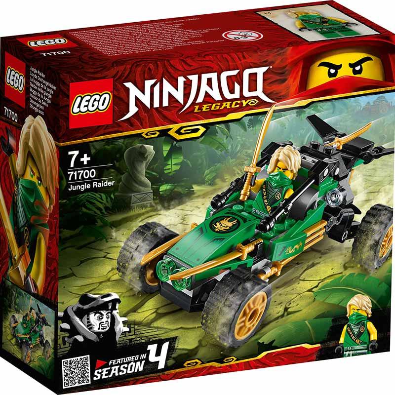 Lego Ninjago buggy da Selva