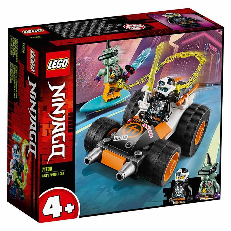 Lego Ninjago Carro desportivo de Cole