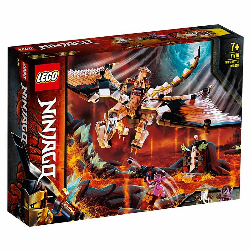 Lego Ninjago O Dragão de Combate de Wu