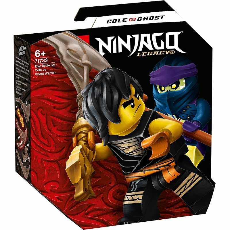 Lego Ninjagot Combate Cole vs Guerreiro Fantasma