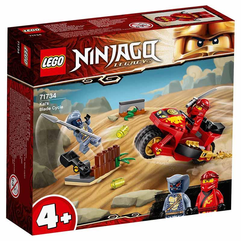 Lego Ninjago Mota de Espadas do Kai