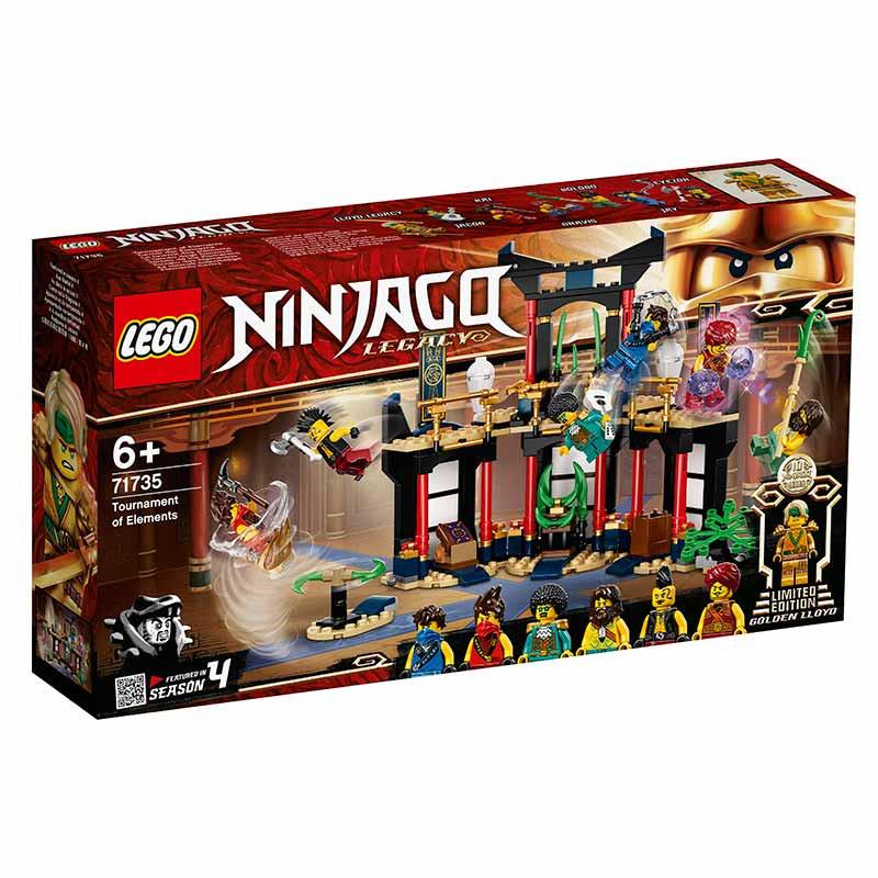 Lego Ninjago Torneio dos Elementos