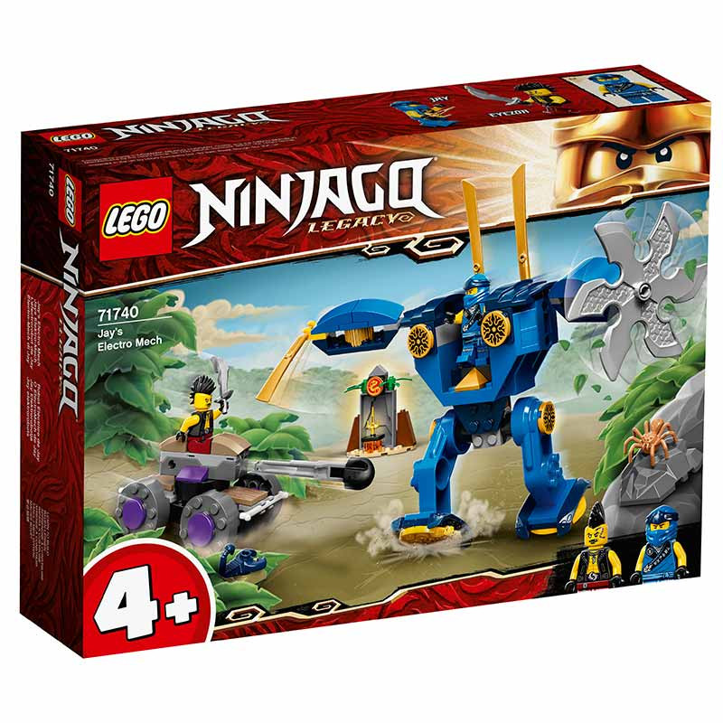 Lego Ninjago O ElectroMech de Jay