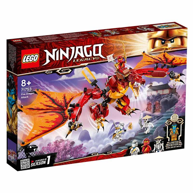 Lego Ninjago Ataque do Dragão do Fogo