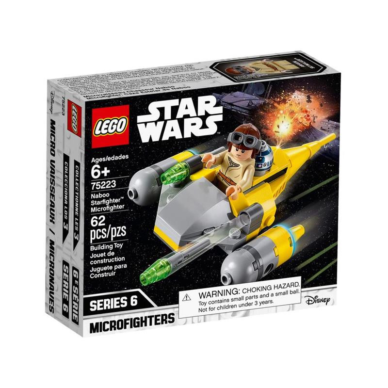 LEGO Star Wars Microfighter caça espacial Naboo