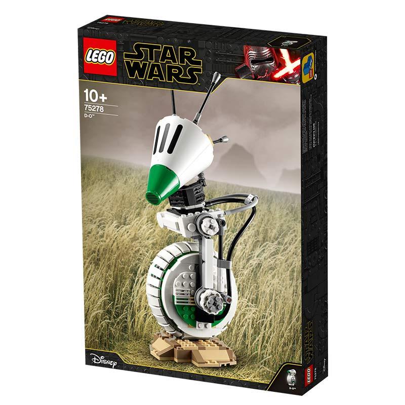 Lego Star Wars capacete piloto caza D-O