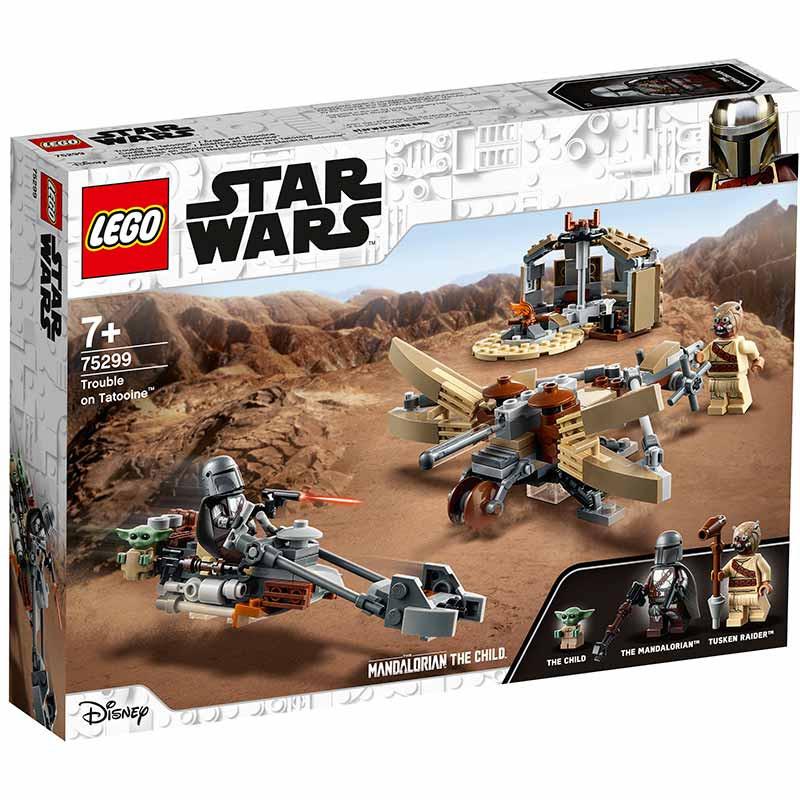 Lego Star Wars Problemas em Tatooine