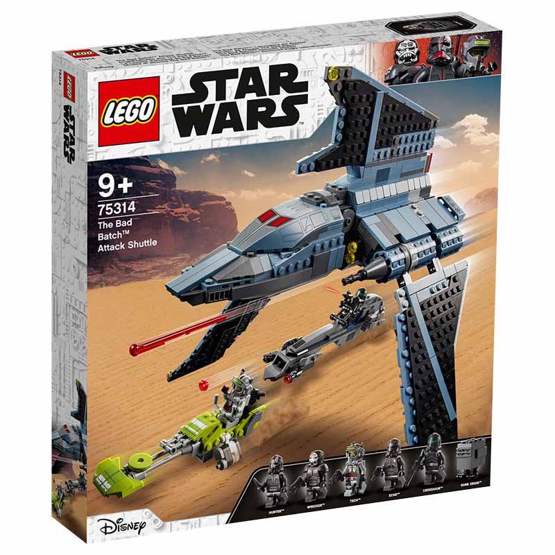 Lego Star Wars Vaivém de Ataque The Bad Batch™