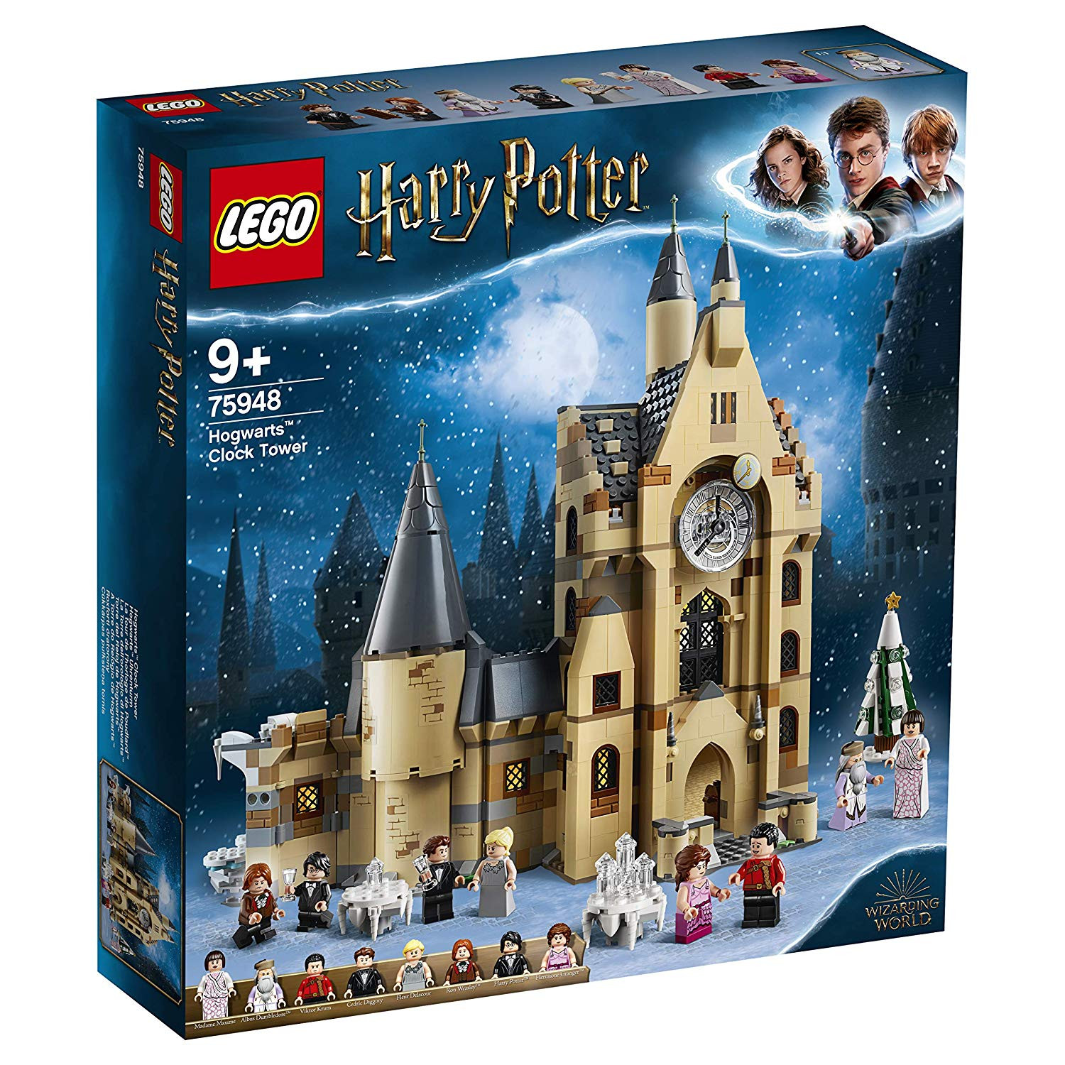 Lego Harry Potter A Torre do Relógio de Hogwarts