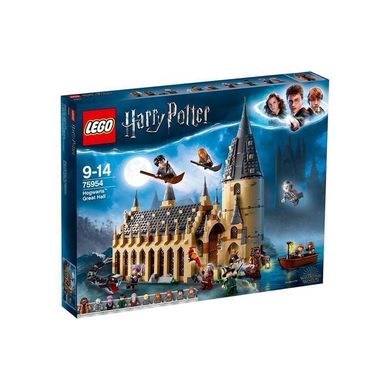 Lego Harry Potter salão de jantar de Hogwarts
