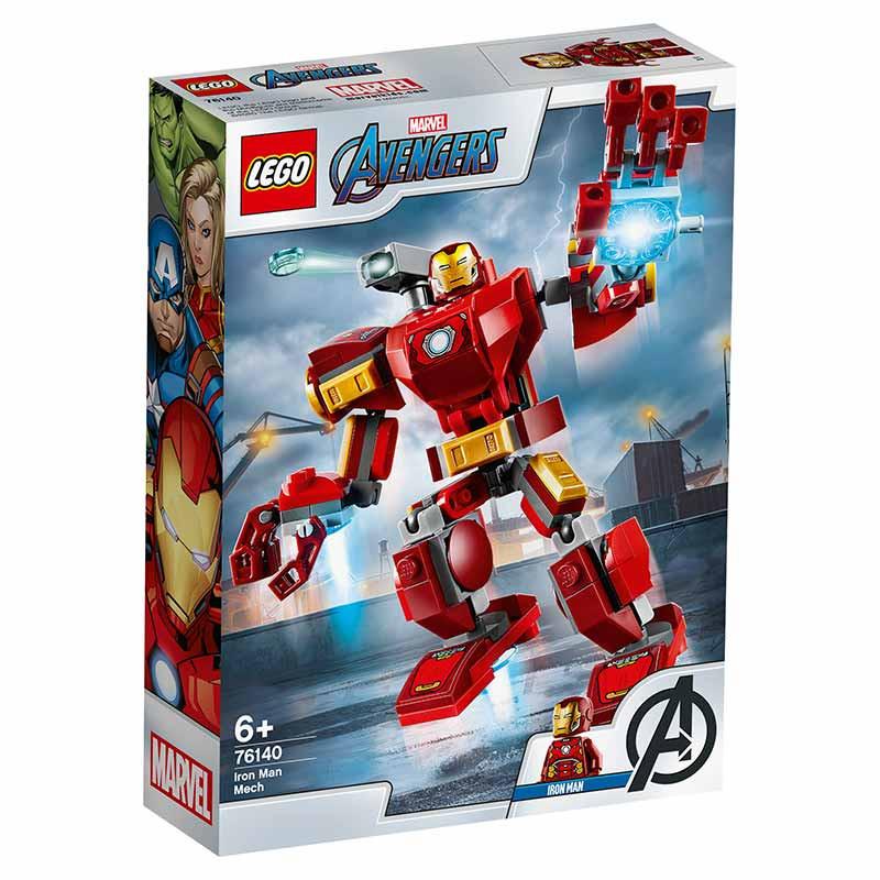 Lego Super Heróis armadura robótica de Iron Man