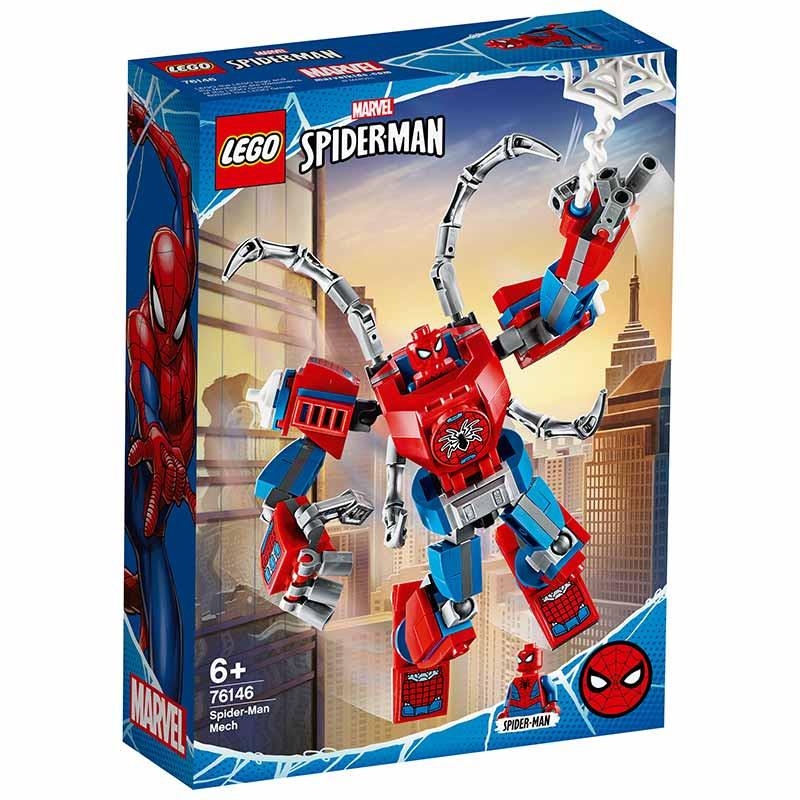 Lego Super Heróis armadura robótica de Spiderman