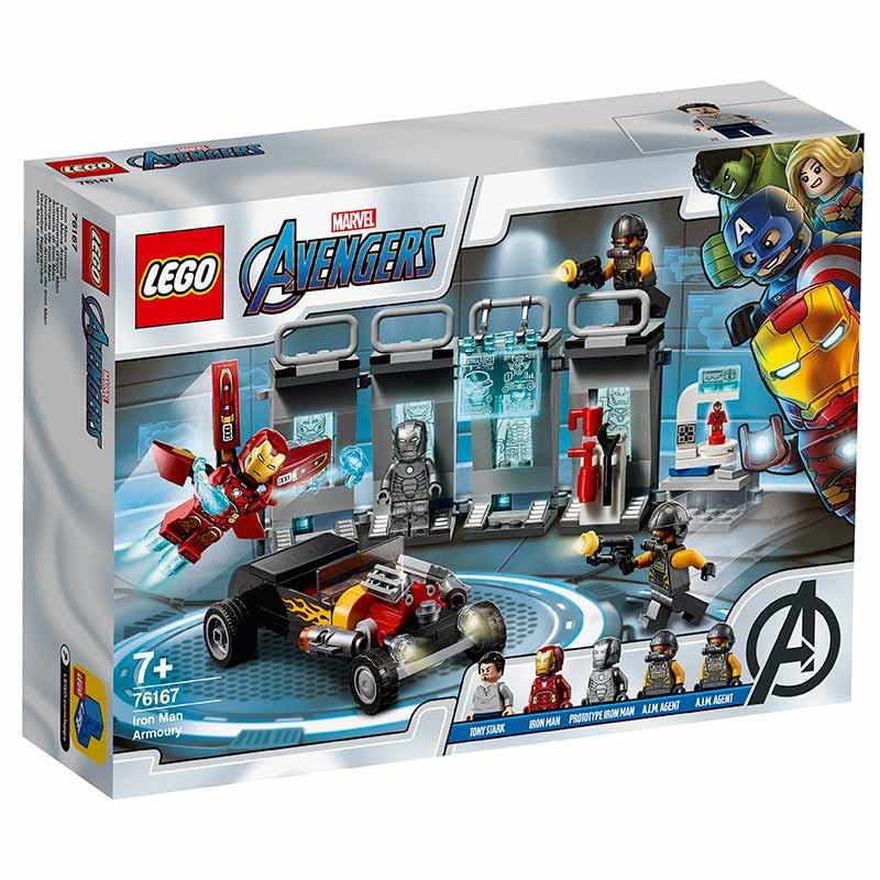 Lego Super Heroes Depósito de Armas de Iron Man