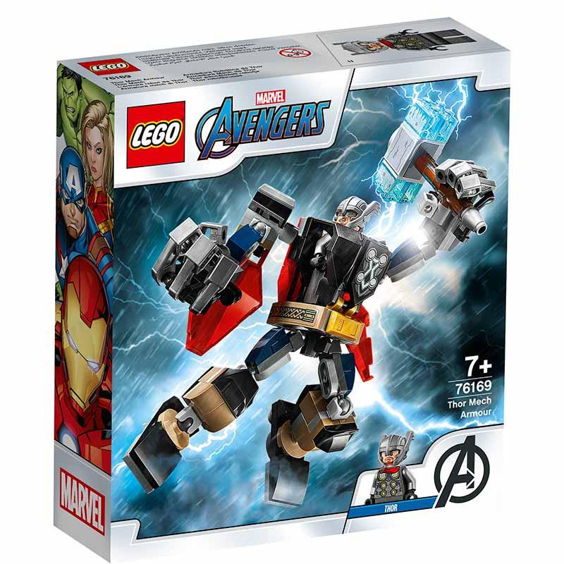 Lego Super Heroes Armadura Mech de Thor