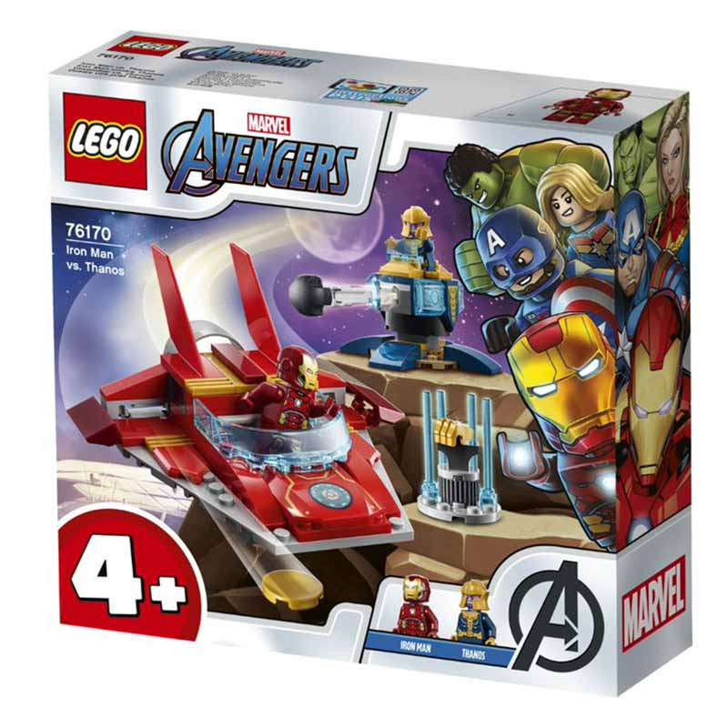 Lego Súper herois Iron Man vs. Thanos