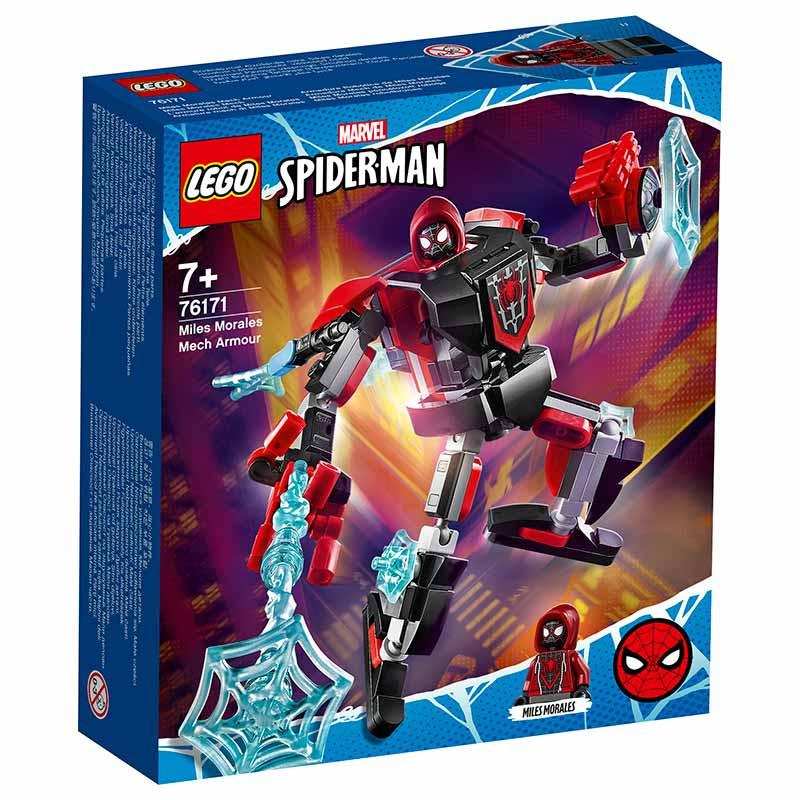 Lego Super Heroes Armadura Mech de Miles Morales