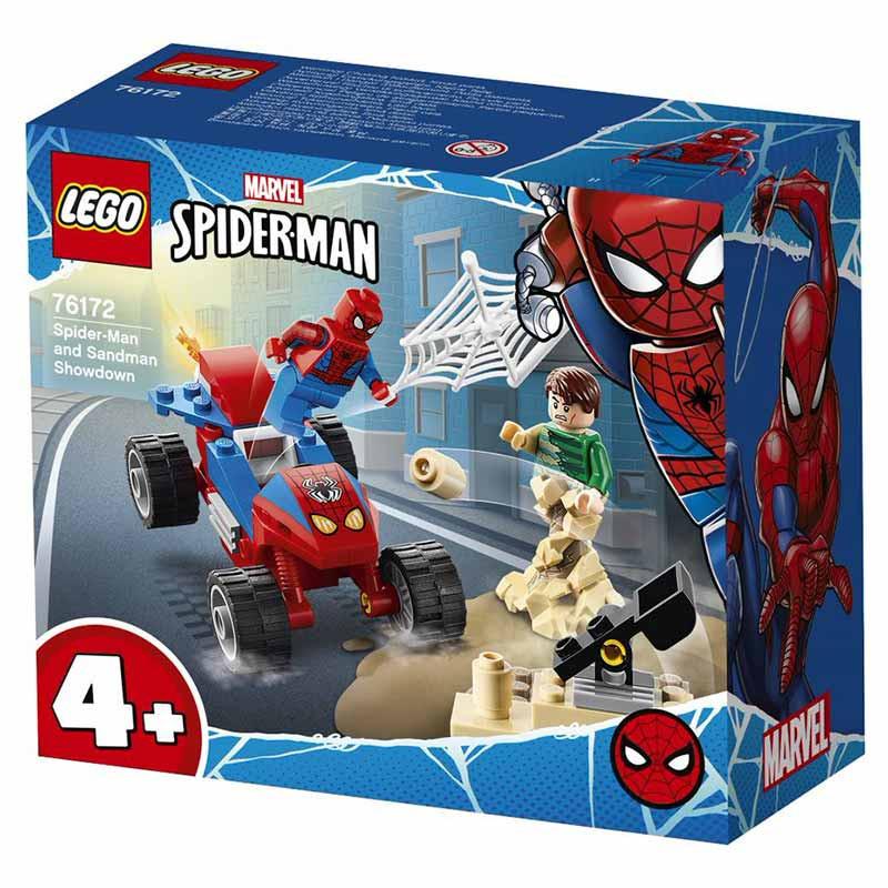 Lego Seper batalha final SpiderMan Sandman