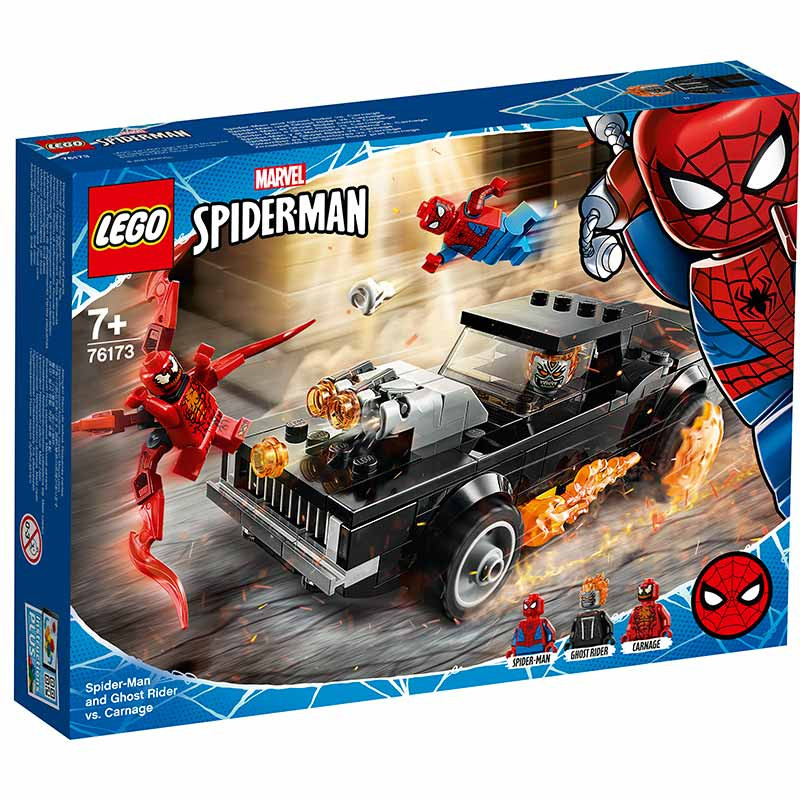 Lego Super Heroes Spiderman-Ghost Rider vs Carnage
