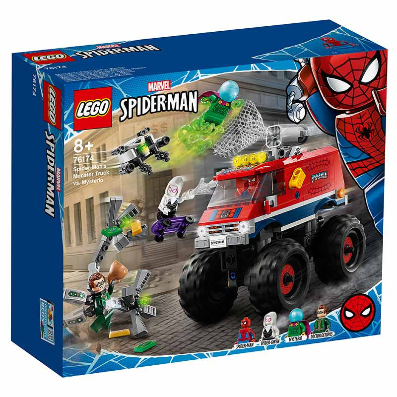 Lego Super Heroes Monster Truck Spiderman-Mysterio