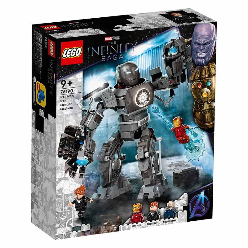 Lego Super heróis Iron Man: A Ameaça
