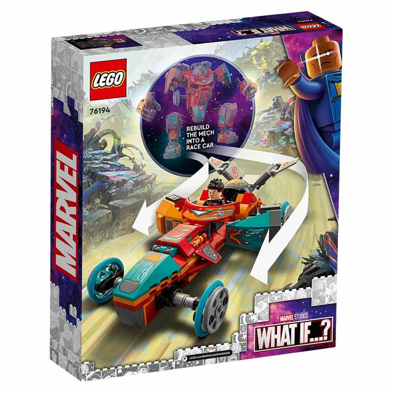 Lego Super herois Iron Man Sakaariano