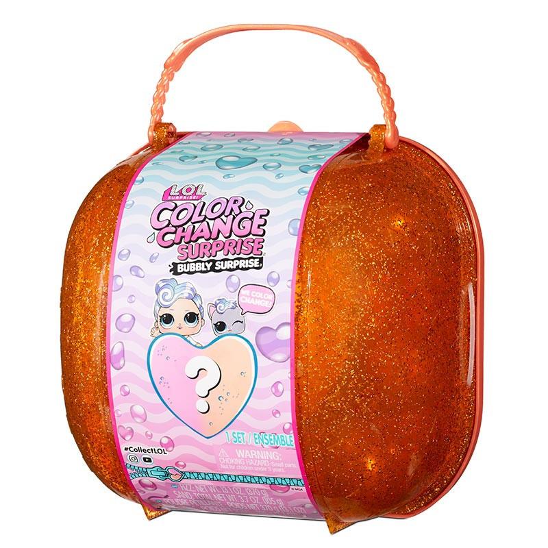 LOL Surprise Color Change bolso bubbly laranja